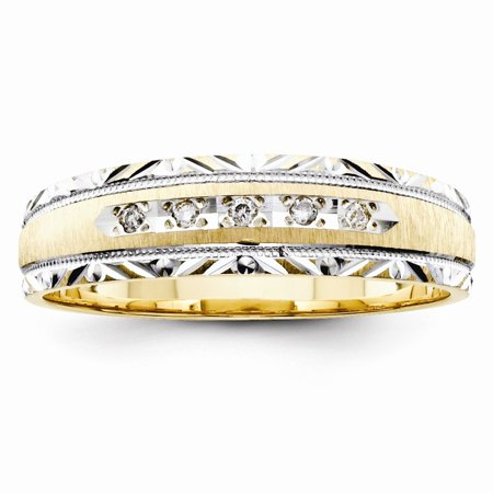 Gold Wedding Band Set - ICE CARATS 14kt Yellow Gold Trio Mens Wedding Ring Band Size 10.00 Engagement Set Man Fine Jewelry Dad Mens Gift Set