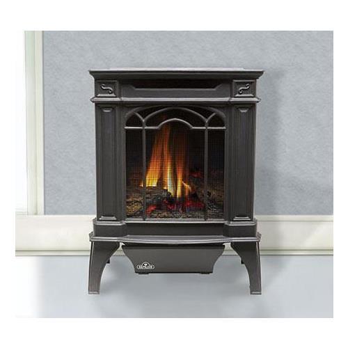 GVFS20P Arlington Cast Iron Stove-Natural Gas - Painted Black - Propane