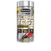 Best Testosterone Boosters - MuscleTech Pro Series AlphaTest, Max-Strength Testosterone Booster, 120 Review