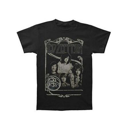 Led Zeppelin Men's  Good Times Bad Times T-shirt Black