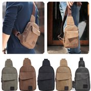 Men Small Chest Bag Pack Travel Sport Shoulder Sling Backpack Cross Body Outdoor