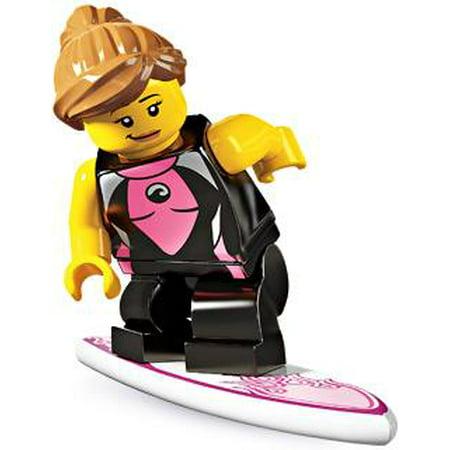 LEGO Series 4 Surfer Girl Minifigure - Surfer Supplies