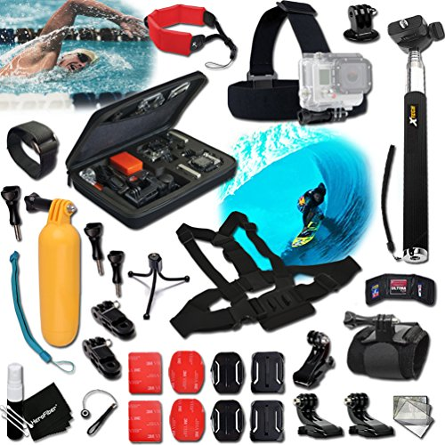 Xtech® SAILING ACCESSORIES Kit for GoPro Hero 4 3+ 3 2 1 ...