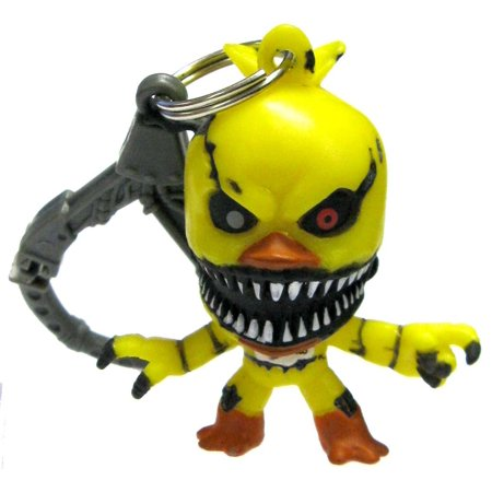 Five Nights at Freddy's FNAF Hangers Series 2 Nightmare Chica Collector Clip - Mangle Fnaf 4 Halloween