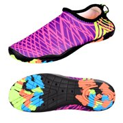 Water Shoes Aqua Socks Fits Men and Women For Summer Outdoor Beach Surf Yoga Exercise Swimming Pool