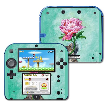 Skin For Nintendo 2DS - Lovely Squirrel | MightySkins Protective, Durable, and Unique Vinyl Decal wrap cover | Easy To Apply, Remove, and Change Styles