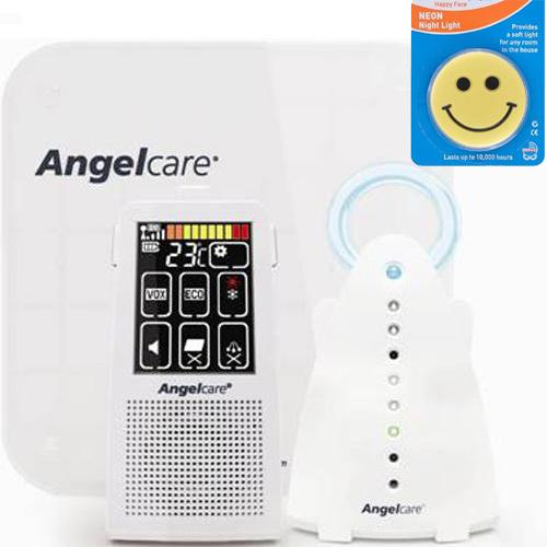 Angelcare AC701 Movement and Sound Monitor With Night Light by Angelcare