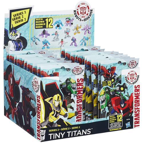 "Transformers Robots in Disguise Tiny Titans Series 2 2"" Mystery Box"