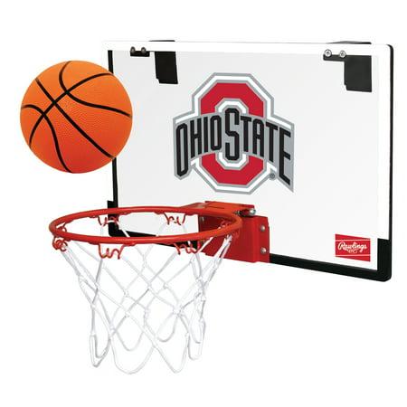 Rawlings NCAA Game On Basketball Hoop Set, Ohio State Buckeyes