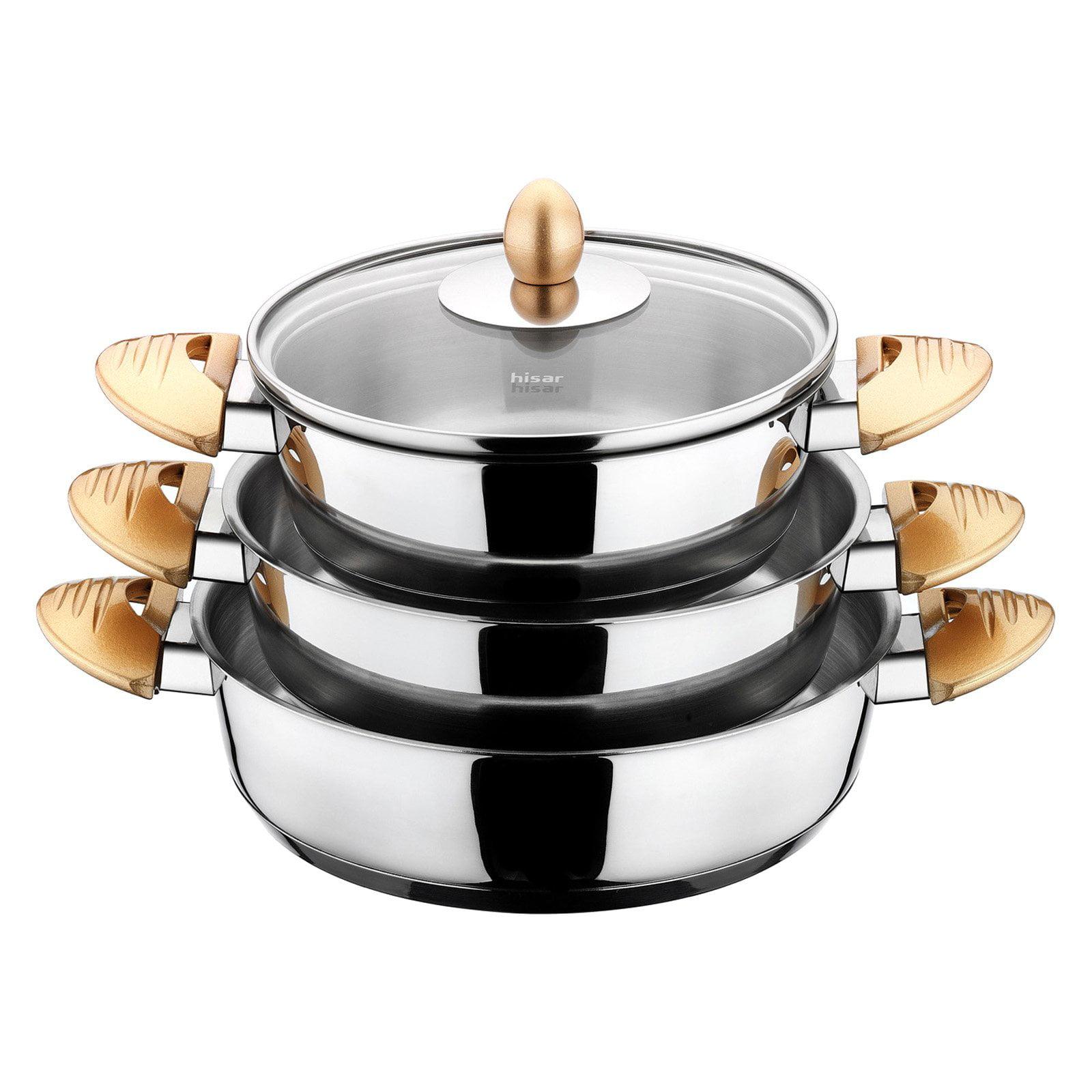 Hisar Lisbon 6 Piece Egg Pan Set