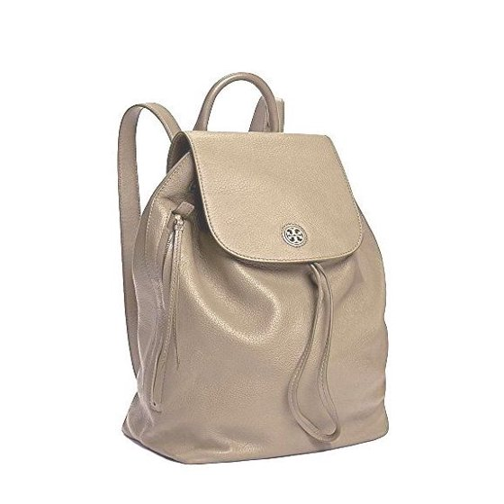 0b96b351fc7b Tory Burch - NEW (43508) BRODY FRENCH GRAY PEBBLED LEATHER BACKPACK ...