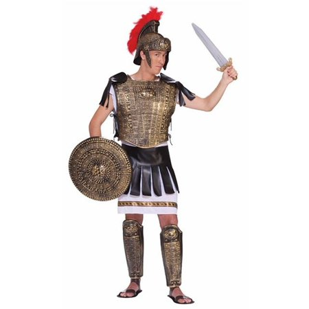 Adult Roman Soldier Gold Set