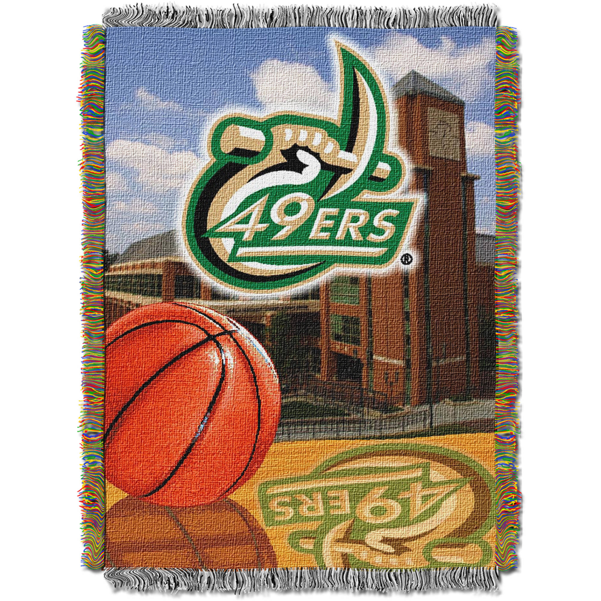 "NCAA 48"" x 60"" Home Field Advantage Series Tapestry Throw, UNC Charlotte"