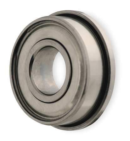 DYNAROLL SFR144ZZ A5 Mini Ball Bearing, Flanged, Bore 0.1250 In