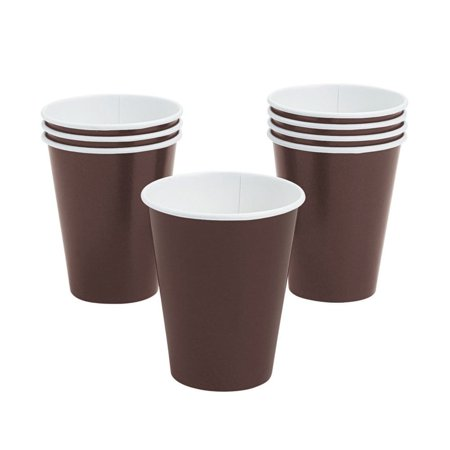 Brown Paper Cups (Chocolate Brown Paper Cups)
