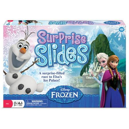 Frozen Halloween Games (Disney Frozen Surprise Slides)