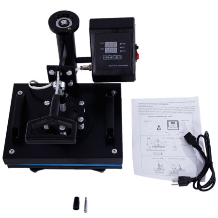Zimtown Digital 30cm x 23cm Rotary Heat Press Transfer Sublimation Multifunction Machine T-Shirt,Garments, Bags, Mouse Mats, Jigsaw Puzzles, Ceramic Tiles, Plates and Other Flat Surfaced Items