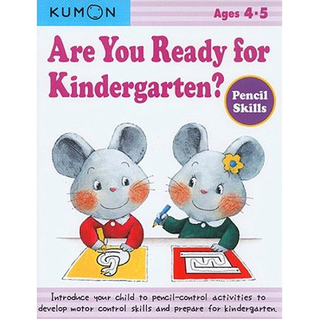 Are You Ready for Kindergarten?: Pencil Skills (Halloween Reading Centers For Kindergarten)