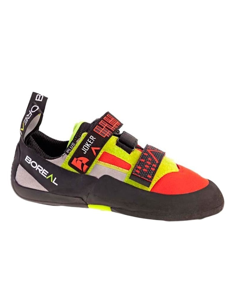 Boreal Climbing Shoes Mens Joker Plus 11.5 Black Orange Yellow 11385