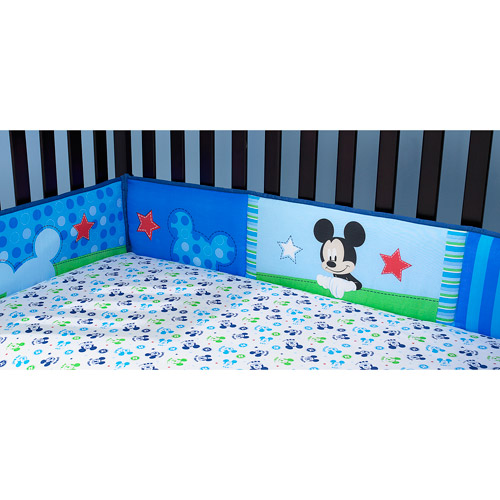 Disney Baby Mickey Mouse Best Friends Crib Bumper