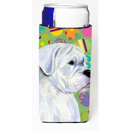 Carolines Treasures SS4854MUK Boxer Easter Eggtravaganza Michelob Ultra bottle sleeves For Slim Cans - 12 Oz. - image 1 of 1