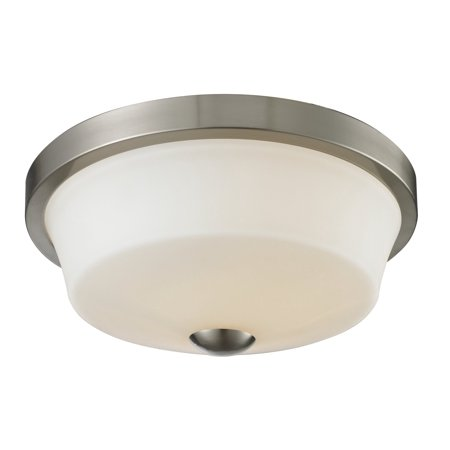 New zlite Product  Montego Collection 2 Light Flush Mount in Brushed Nickel Finish Sold by - Montego Two Light
