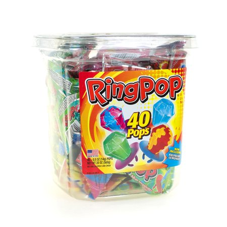 Candy Ring Pops (40 ct.) - Ring Pops