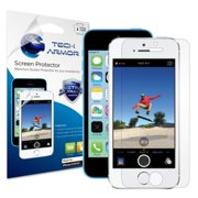 Tech Armor Apple iPhone 5/5c/5s High Defintion (HD) Clear Screen Protectors -- Maximum Clarity and Touchscreen Accuracy