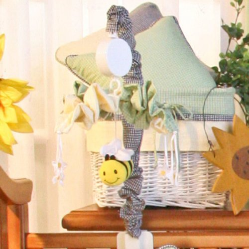 Brandee Danielle Bee My Baby Musical Crib Mobile