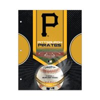 MLB Pittsburgh Pirates 2 Pocket Portfolio, Three Hole Punched, Fits Letter Size