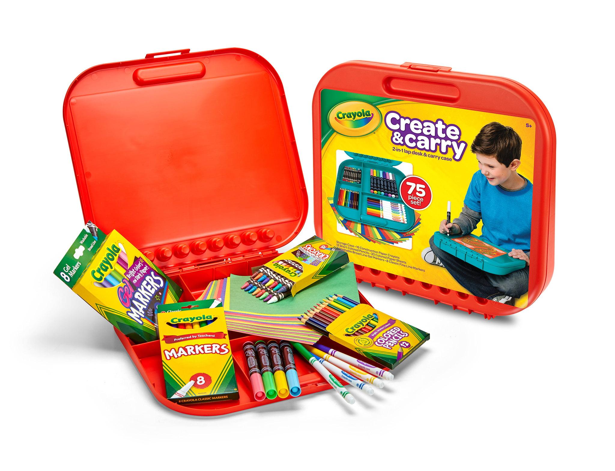 83ba04efb Crayola Create And Carry Storage Case And Lap Desk 2-N-1 - Walmart.com