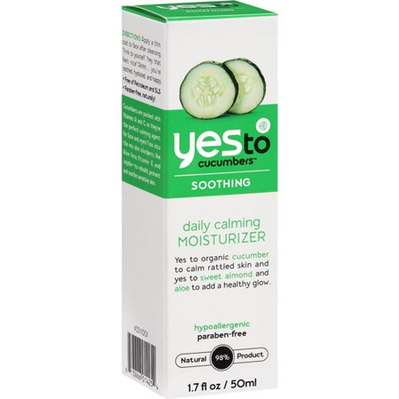 Yes To Cucumbers Soothing Daily Moisturizer Sensitive Skin, 1.7 Fl Oz