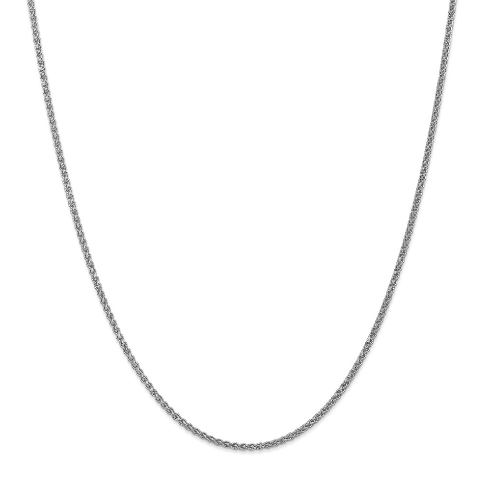 """14K Yellow Gold 1mm Spiga Pendant Necklace Chain -20"""" (20in x 1mm)"""