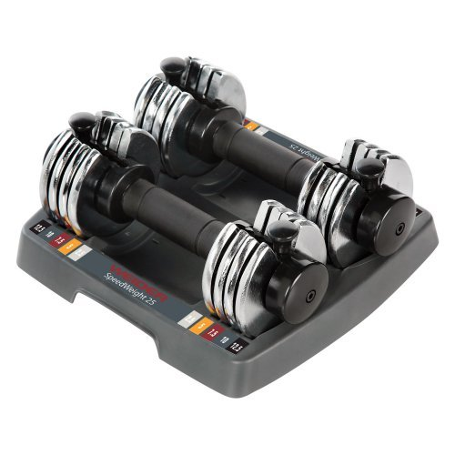 Weider Speed Weight Adjustable Dumbbells - 2.5-12.5 lbs.