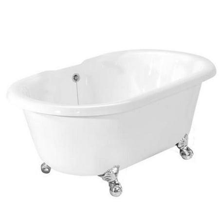 American-Bath-Factory-T080A-CH-Celine-Bathtub-no-Faucet-Holes-White