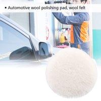 HURRISE Car Polisher Pad Wool Polishing Buffing Waxing Pad For Car Polisher Buffer 3  4  5  6  7  New