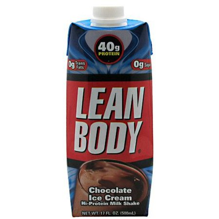 Labrada Nutrition Lean Body Rtd Chocolate Ice Cream   12 17 Fl Oz   500Ml