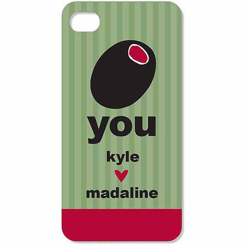 Personalized Olive You iPhone 4 Case