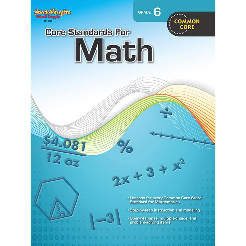 Houghton Mifflin Harcourt Core Standards For Math - Grade 6