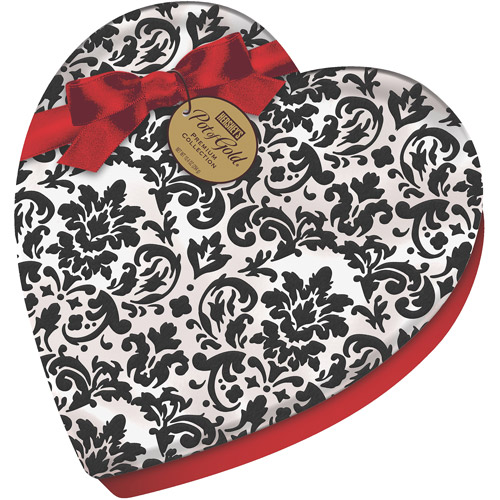 Hershey's Pot of Gold Premium-Collection Chocolates in Valentine's Heart Box, 10.4 oz