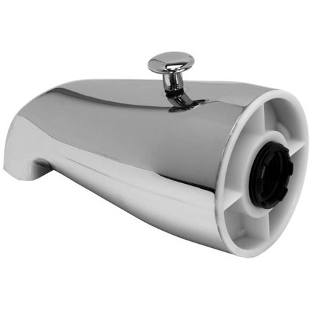 ProPlus Wall Mounted Bathtub Spout Trim with Top Diverter
