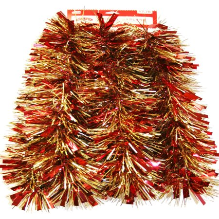 9 red and gold mega christmas garland