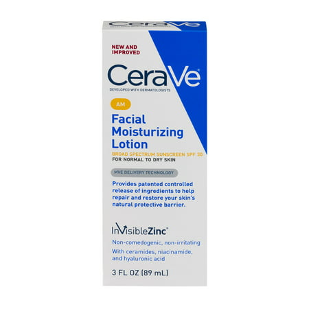 CeraVe AM Facial Moisturizing Lotion with Sunscreen - SPF 30 - 3 fl oz