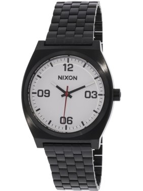 Nixon Men's A1247005 Black Stainless-Steel Japanese Quartz Fashion Watch