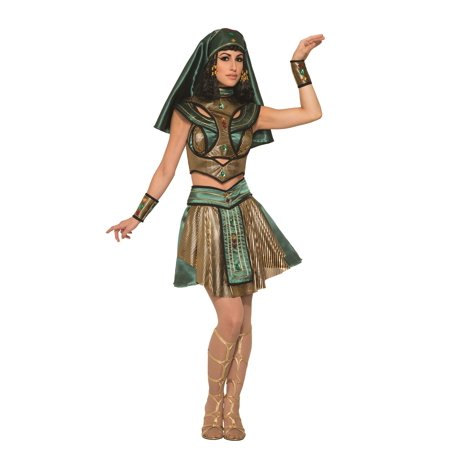 Sassy Egyptian Priestess Queen Cleopatra Adult Woman's Costume - Halloween Costumes Egyptian