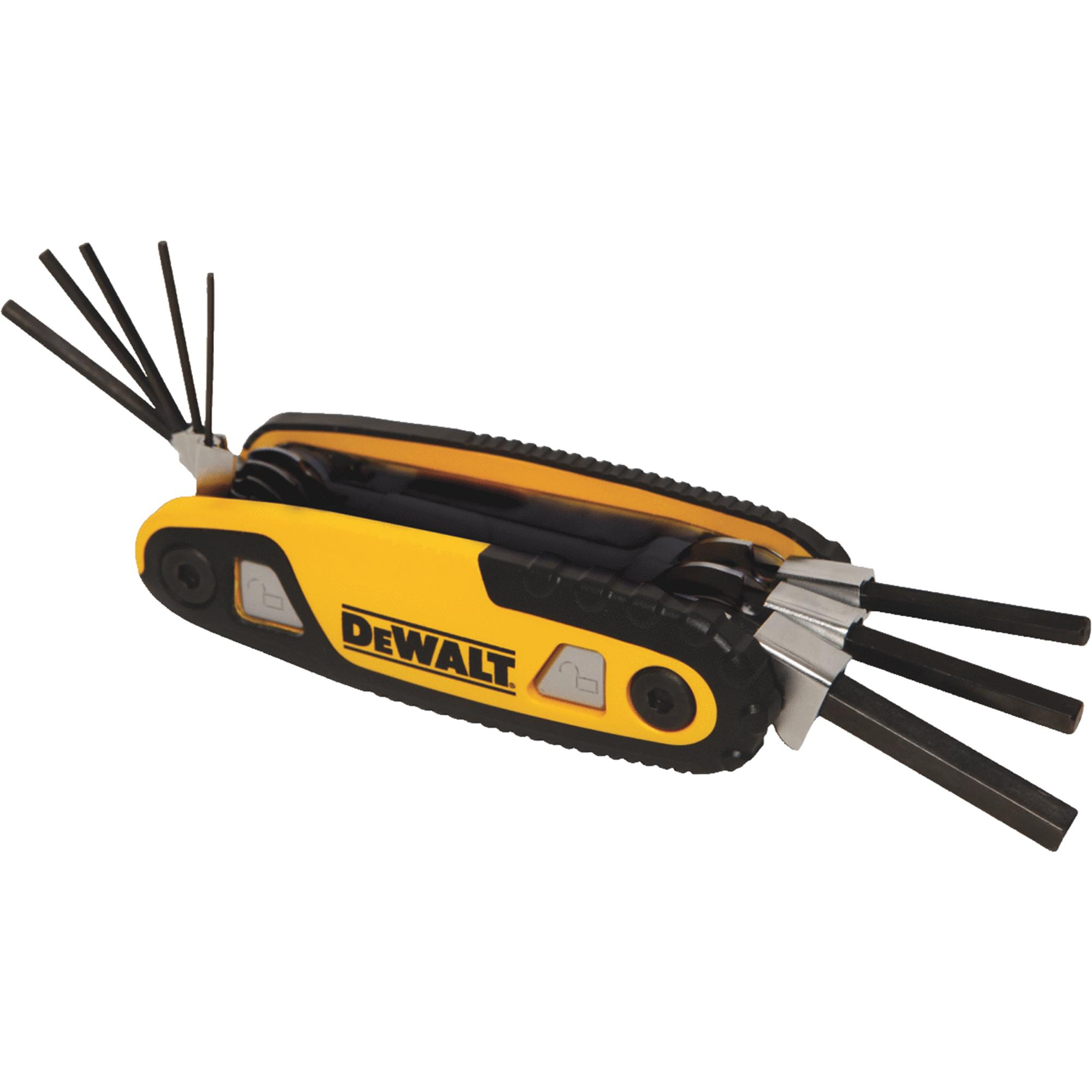 Folding and Locking Hex Key Set