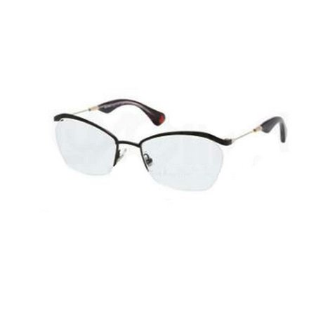 Miu MIu VMU54L-7AX-101 Rectangular Women's Black Frame Genuine Eyeglasses (Miu Miu Frames 2017)