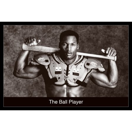 Bo Jackson Ball Player Poster Poster Print