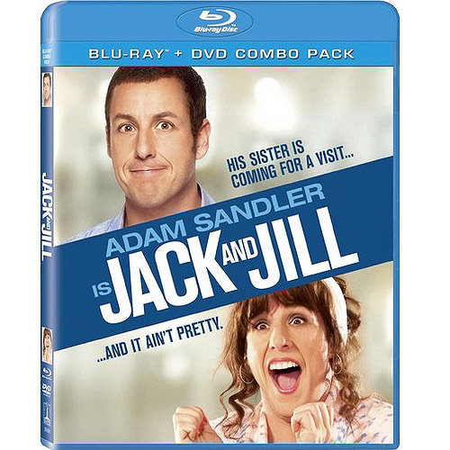 Jack And Jill (Blu-ray + DVD) (With INSTAWATCH) (Anamorphic Widescreen)