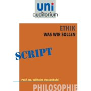 Ethik - was wir sollen - eBook